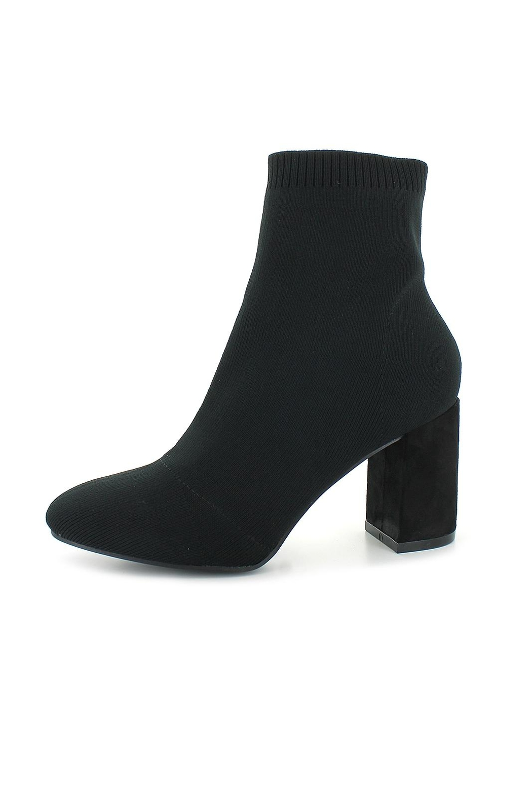 Mia Ramona Knit Boot - Front Cropped Image
