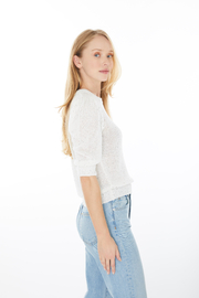 Generation Love  Mia Sequin Sweater - Side cropped