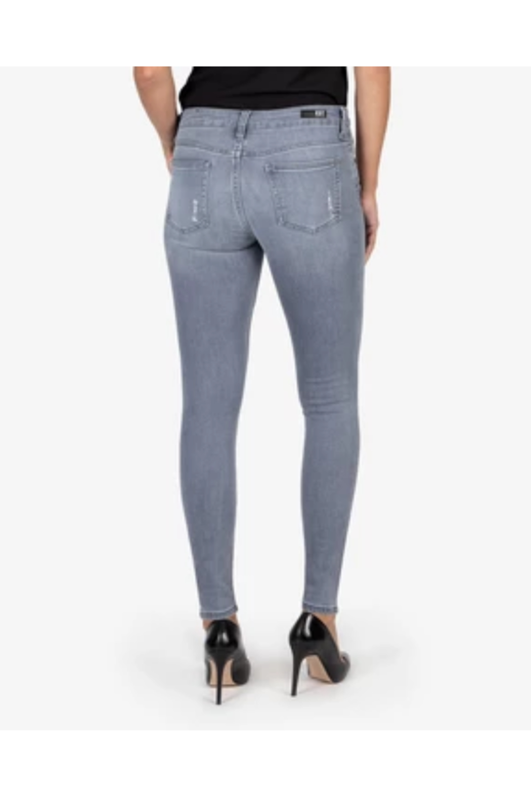 Kut from the Kloth MIA SLIM FIT SKINNY - Front Full Image