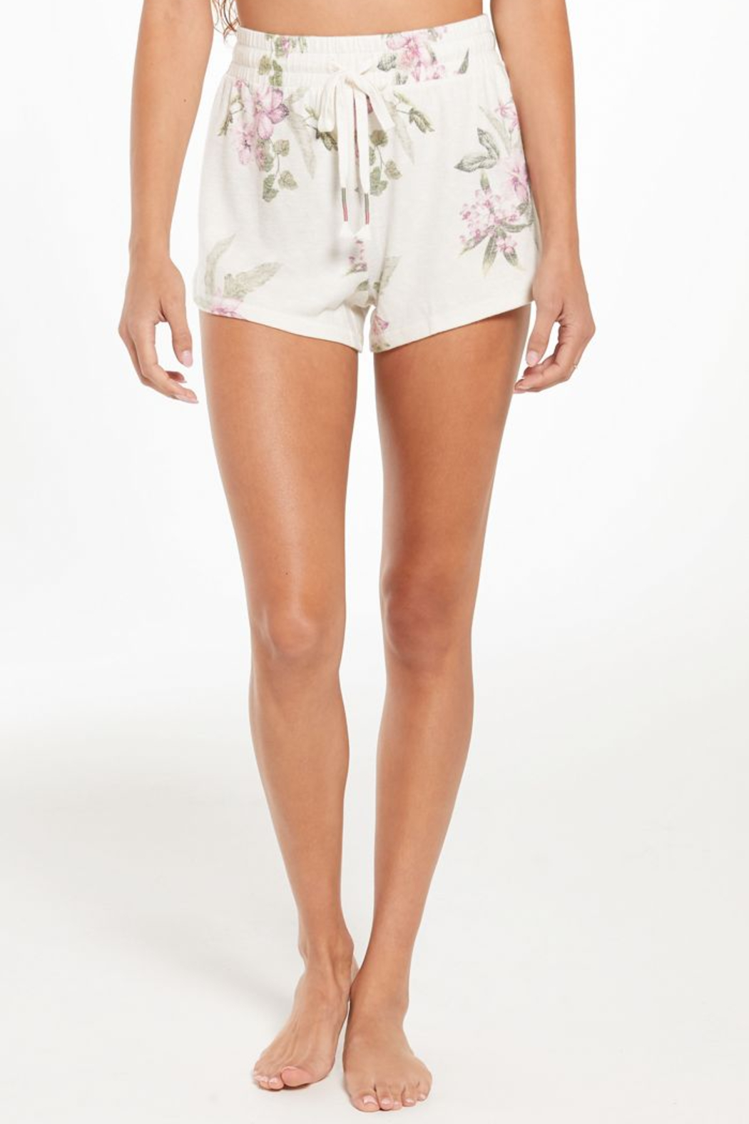 z supply Mia Spring Floral Short - Main Image
