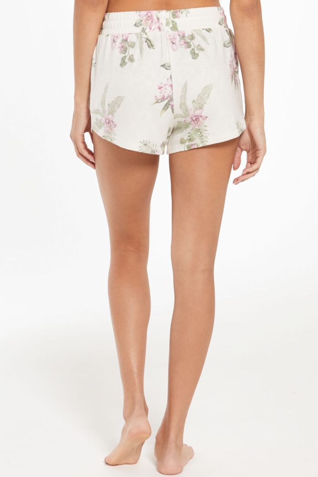 z supply Mia Spring Floral Short - Back Cropped Image