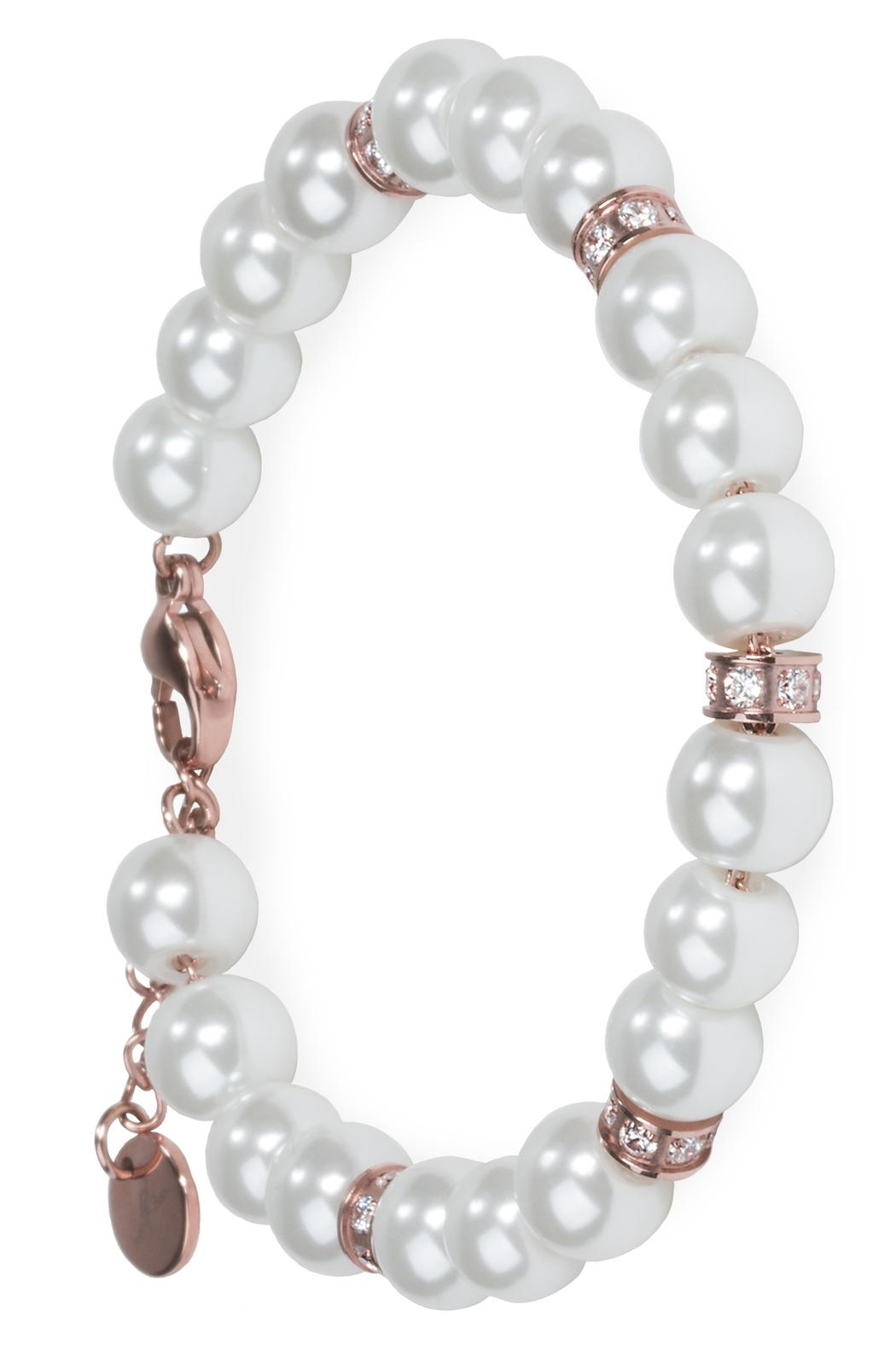 and alligator white pearls kieselstein cord off sterling clasp silver i bracelet