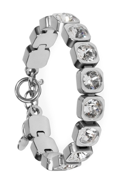 Mia Stainless Tennis Bracelet - Alternate List Image