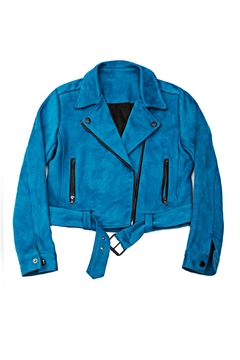 Shoptiques Product: Suede Motorcycle Jacket
