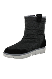 Mia Black Nylon Boots - Product Mini Image