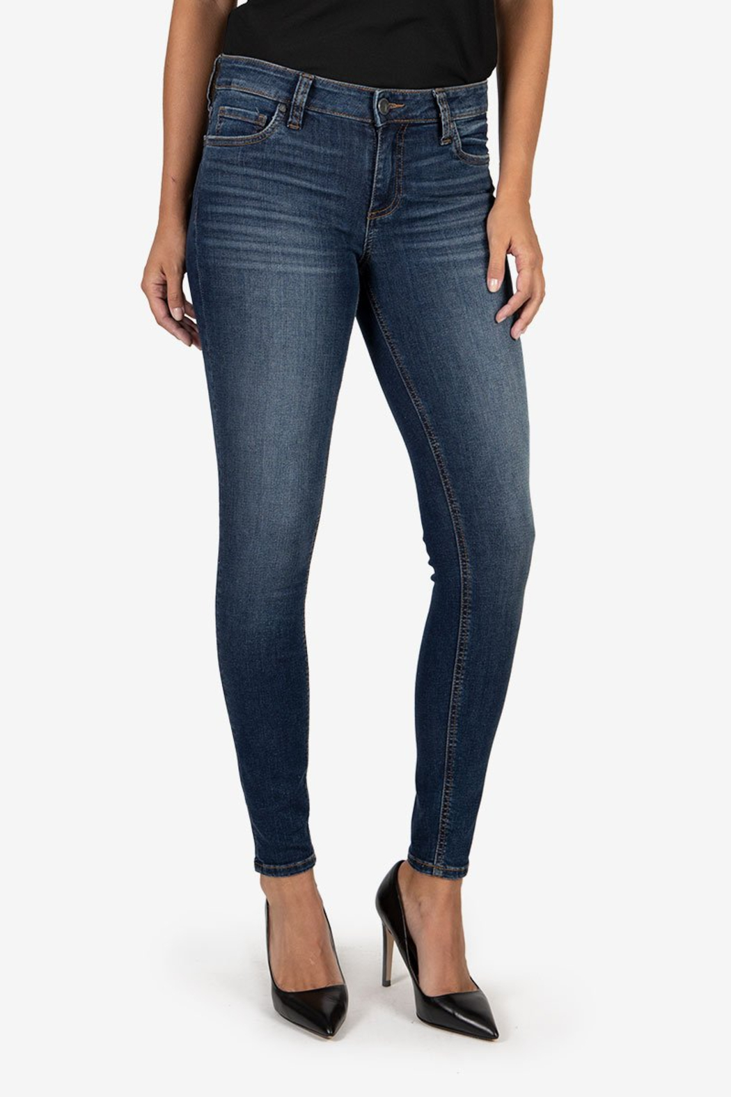 Kut from the Kloth Mia Toothpick Skinny - Front Cropped Image