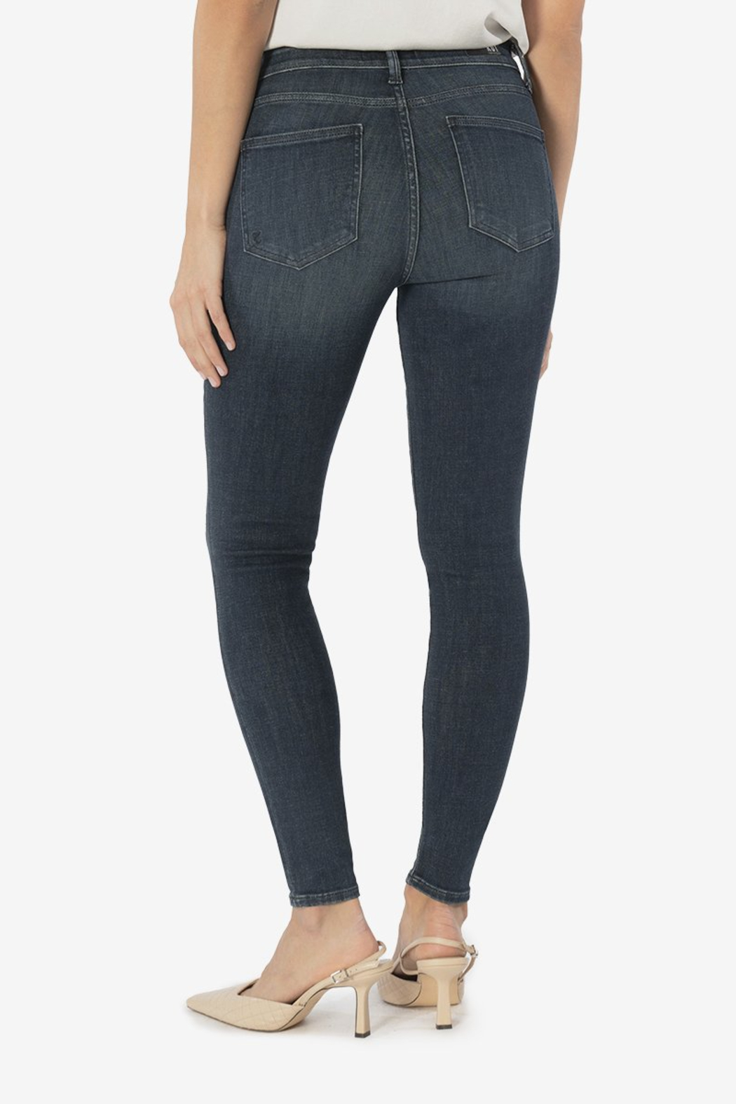 Kut from the Kloth Mia Toothpick Skinny - Side Cropped Image