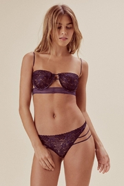 FOR LOVE & LEMONS Mia Underwire Bra - Front cropped