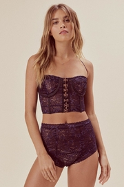 FOR LOVE & LEMONS Mia Underwire Bustier - Front full body