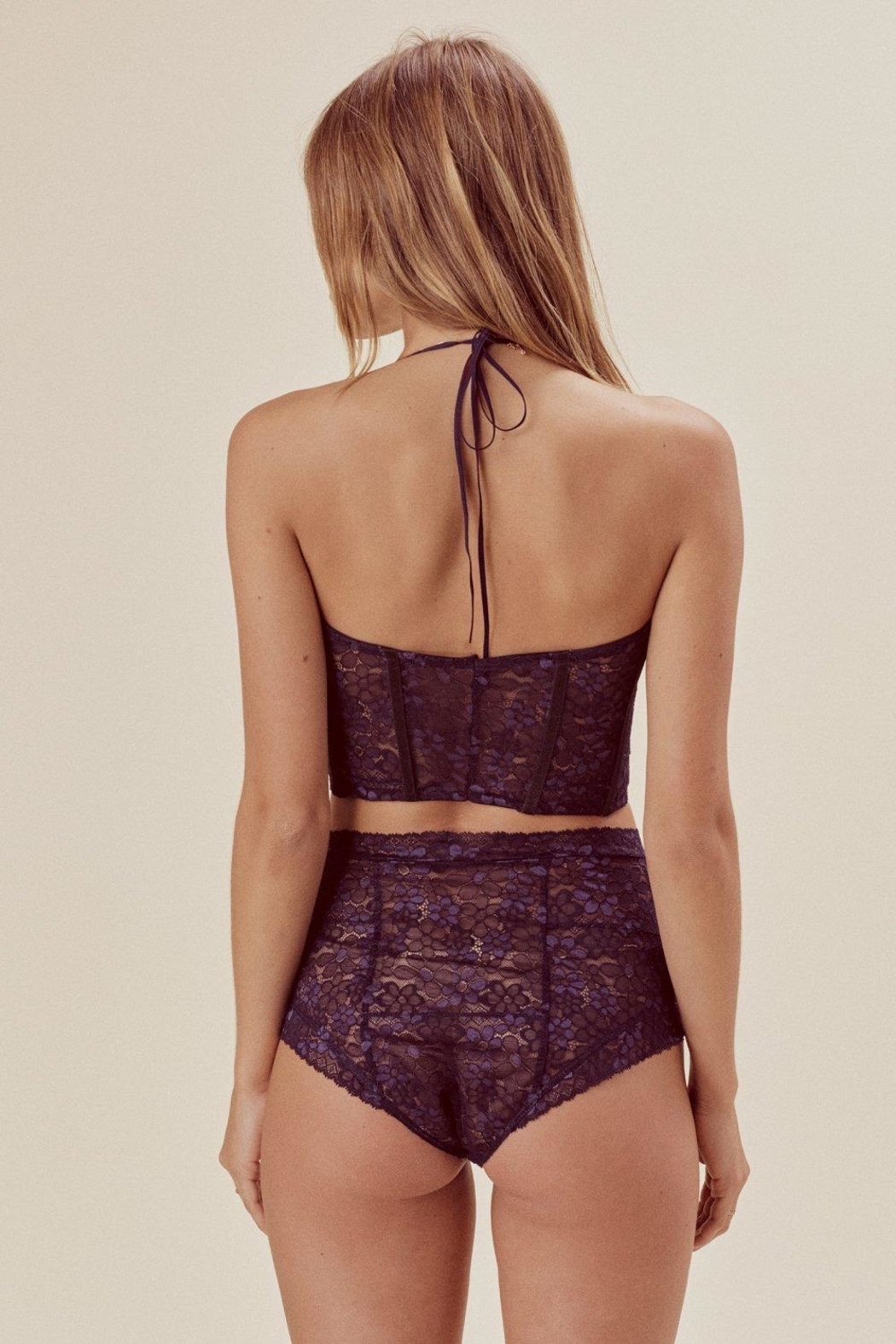 FOR LOVE & LEMONS Mia Underwire Bustier - Side Cropped Image