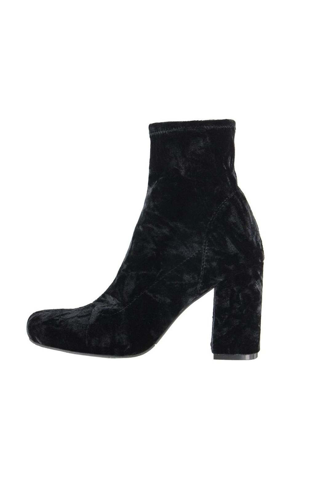 Mia Valencia Velvet Boot - Front Cropped Image