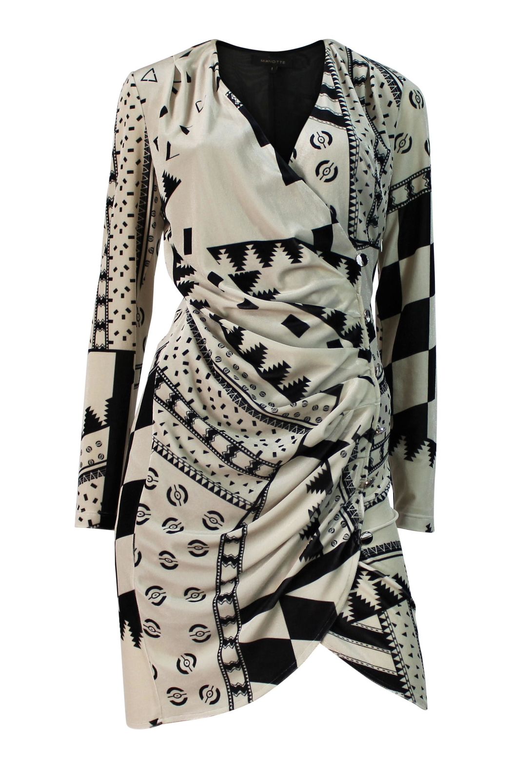 Mianotte Geo Print Dress - Front Full Image