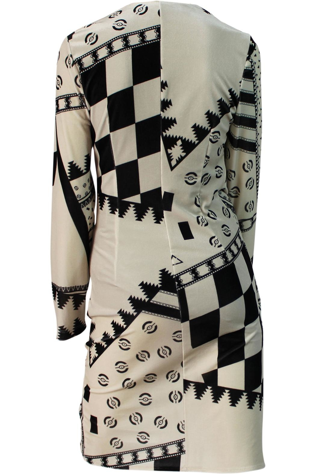 Mianotte Geo Print Dress - Side Cropped Image