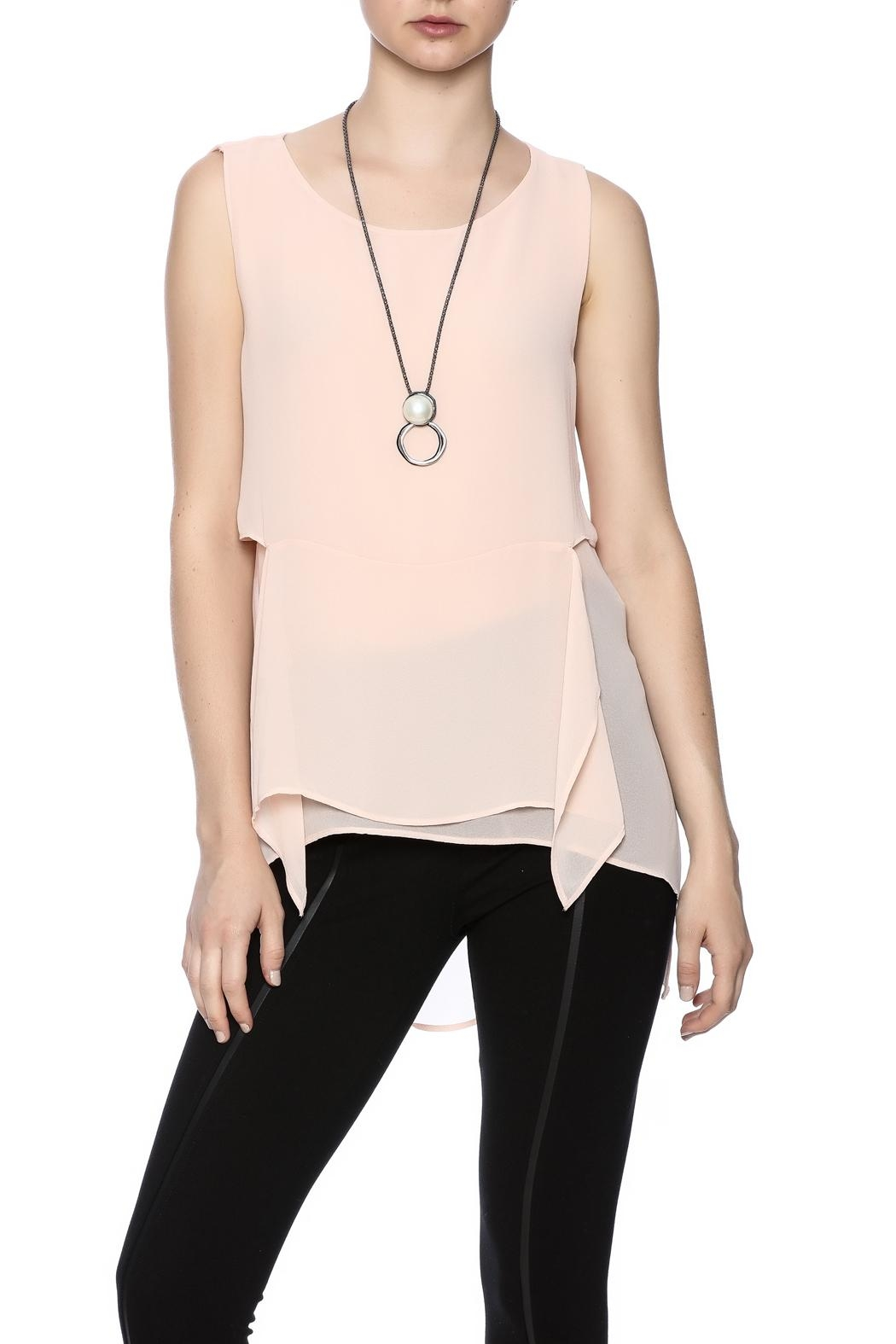 Miarte Layered Top - Front Cropped Image