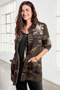 3J Workshop by Johnny Was Mica Military Jacket - Product List Image