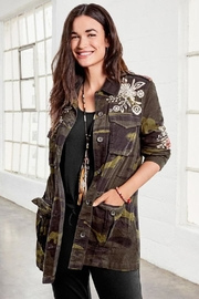 3J Workshop by Johnny Was Mica Military Jacket - Product Mini Image