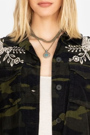 3J Workshop by Johnny Was Mica Military Jacket - Side cropped