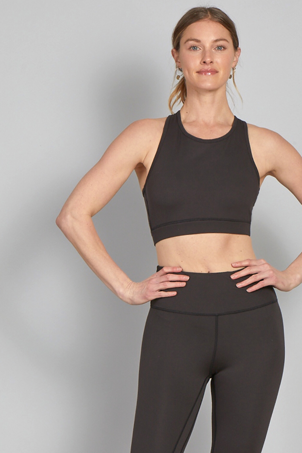 another love  Micah Athletic Bra in Black - Main Image