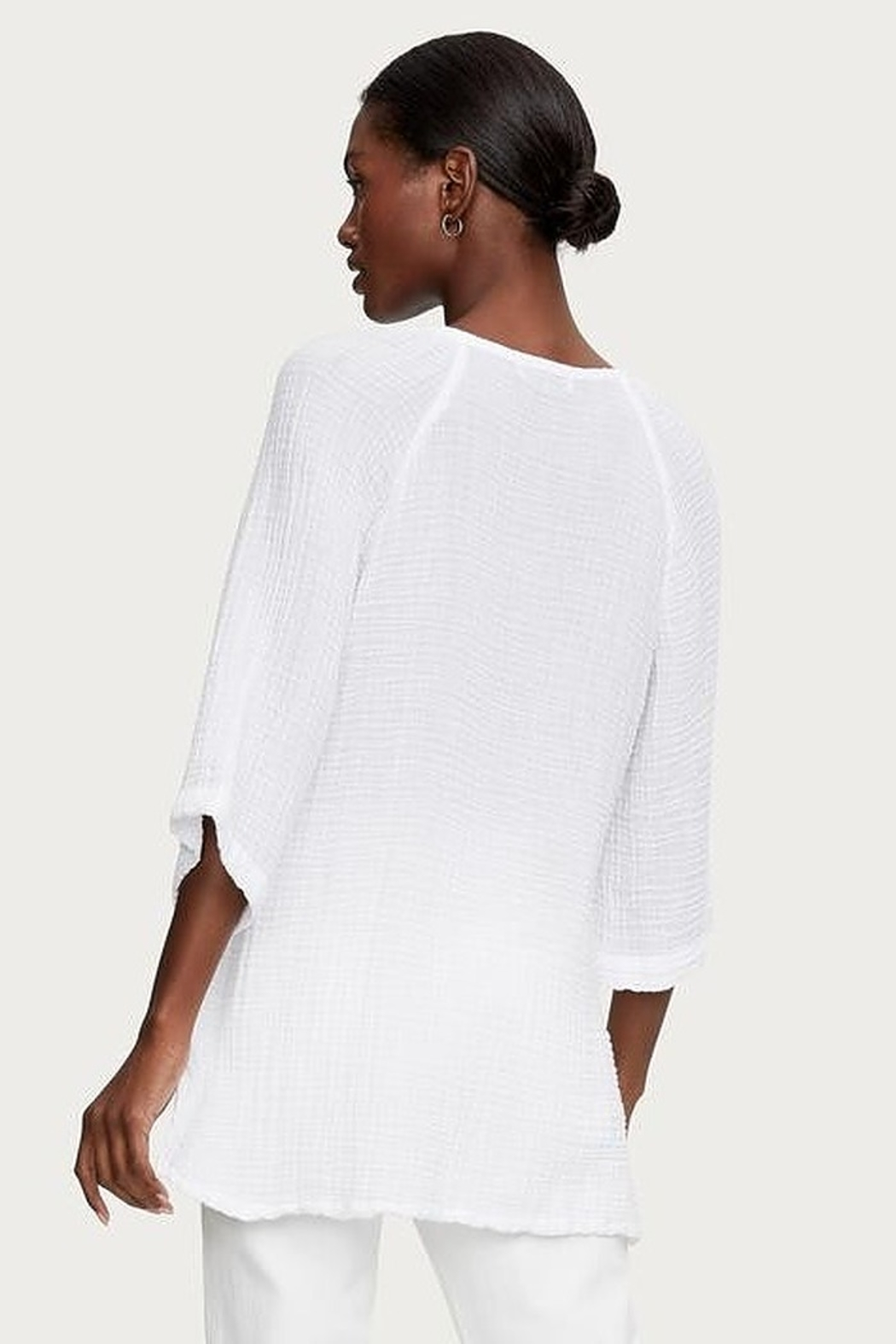 Micael Stars Micah Gauze Tunic - Side Cropped Image