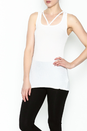 Michael Lauren Strappy Cutout Tank - Product Mini Image