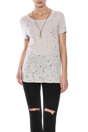 Michael Stars Distressed Crew Neck Tee - Product Mini Image