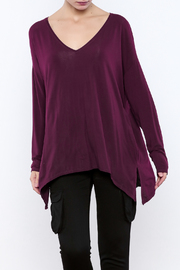 Michael Stars Side Slit V-Neck Tunic - Product Mini Image