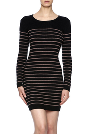 Michael Stars Striped Sweater Dress - Front cropped