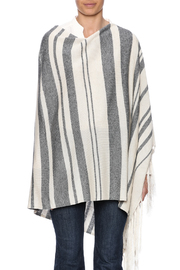 Michael Stars Stripped Poncho - Side cropped