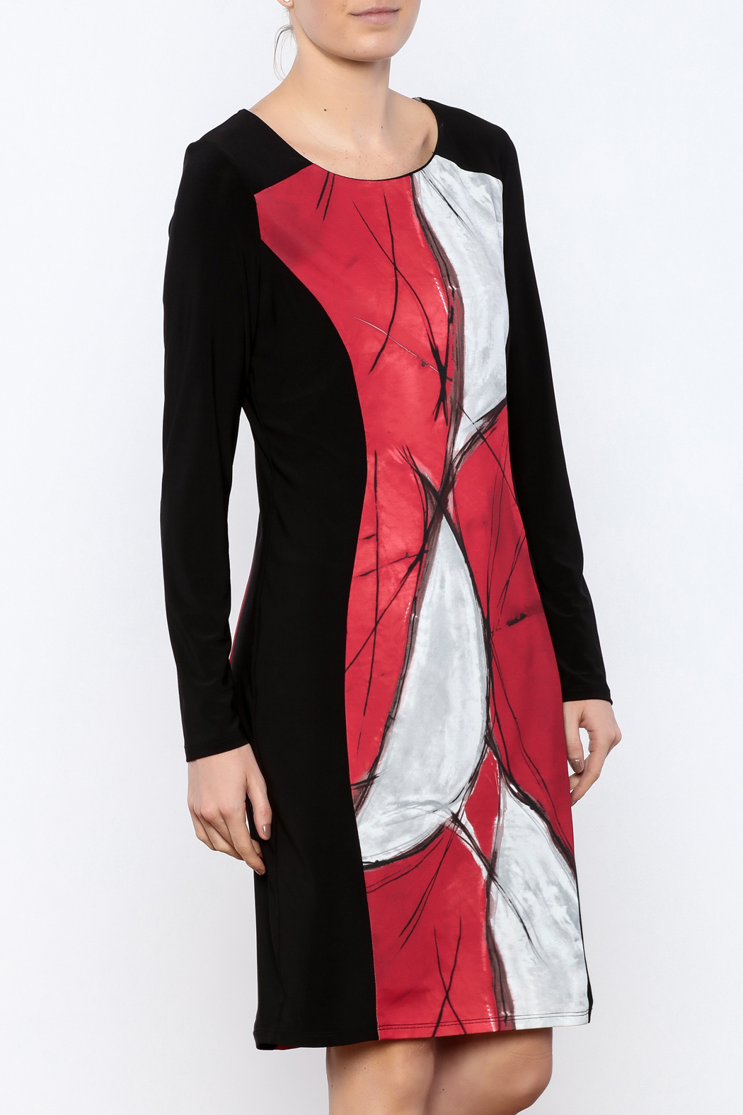 Michael Tyler Collections Panel Dress - Main Image