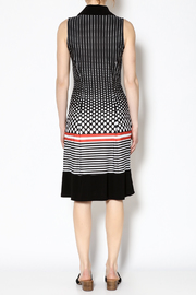 Michael Tyler Collections Polka Dot Dress - Back cropped