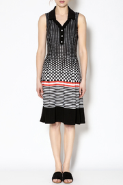 Michael Tyler Collections Polka Dot Dress - Front cropped