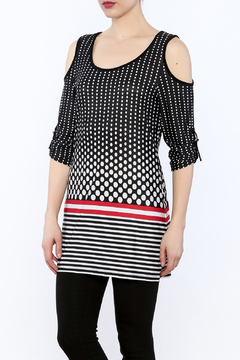 Michael Tyler Collections Polka Dot Tunic - Product List Image
