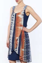 Michael Tyler Collections Abstract Tank Dress - Product Mini Image