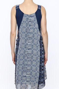 Michael Tyler Collections Abstract Tank Dress - Alternate List Image