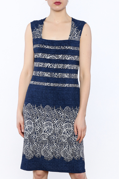 Michael Tyler Collections Navy Sleeveless Dress - Product List Image