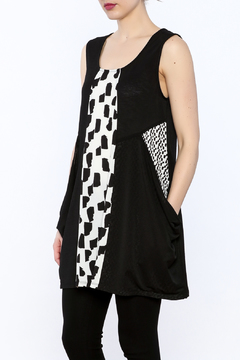 Michael Tyler Collections Black Sleeveless Tunic - Product List Image