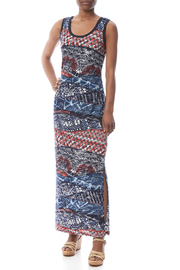 Michael Tyler Print Maxi Dress - Product Mini Image