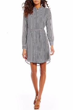 Michael by Michael Kors Corsican Striped Chiffon Dress - Product List Image