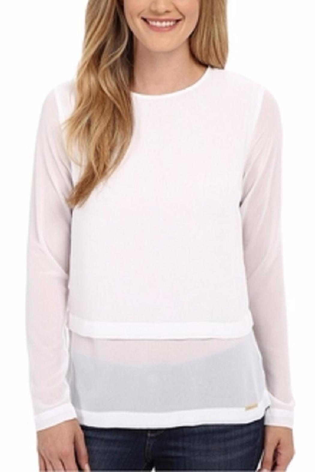 Michael by Michael Kors Double Layered Blouse - Main Image