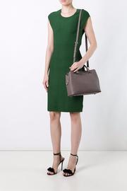 Michael by Michael Kors Fitted Jacquard Dress - Product Mini Image