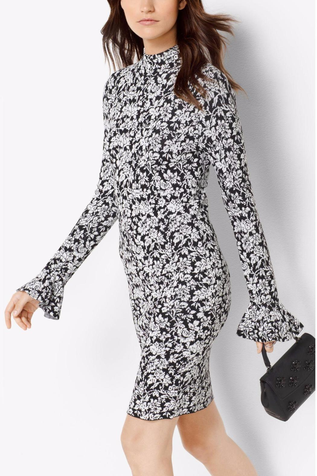 b99f6fe9243 Michael by Michael Kors Floral Bell Sleeve Dress from Toronto by The ...