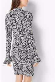 Michael by Michael Kors Floral Bell Sleeve Dress - Front full body