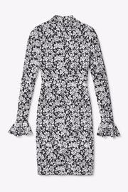Michael by Michael Kors Floral Bell Sleeve Dress - Side cropped