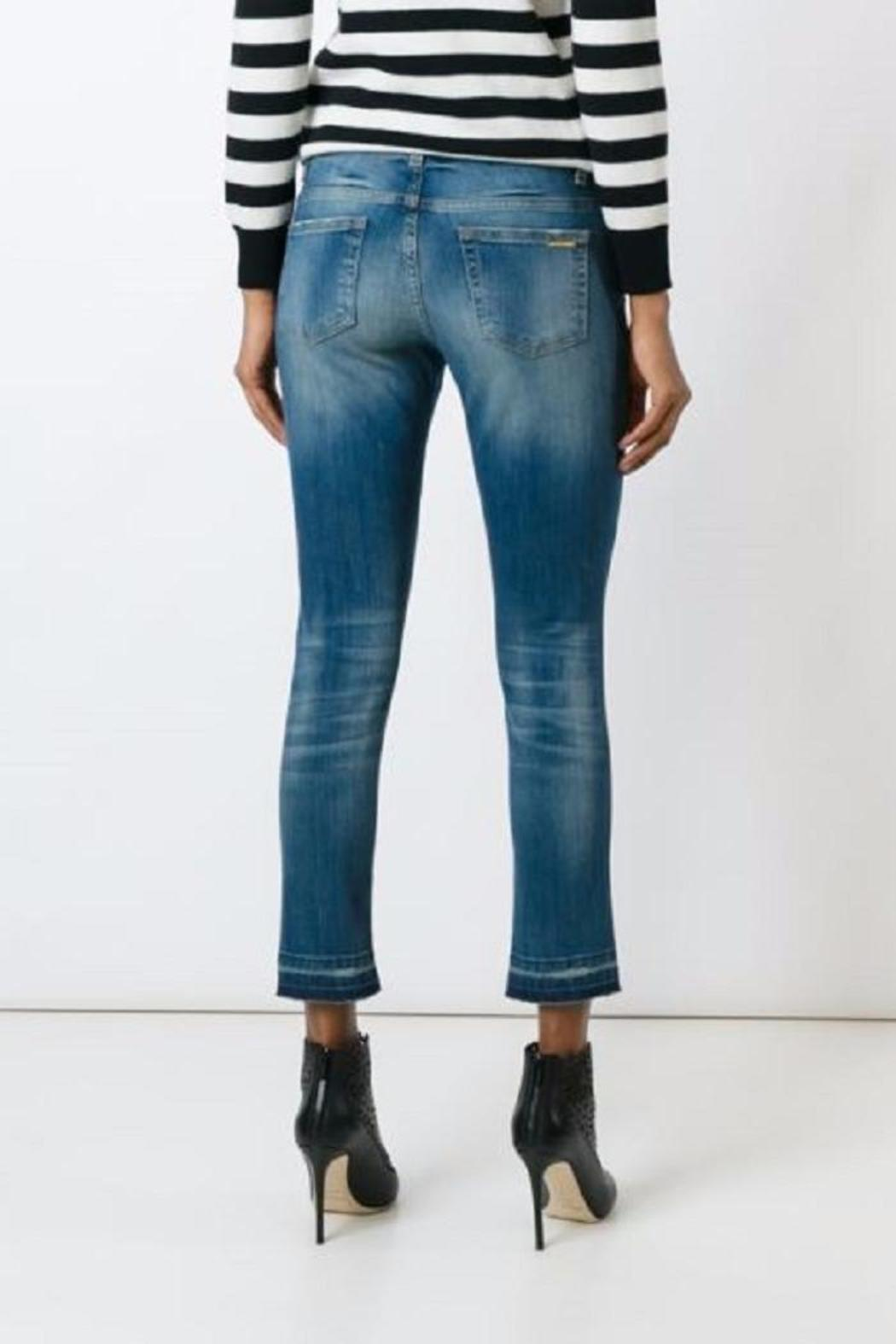 Michael by Michael Kors Izzy Cropped Distressed Jeans from Toronto ...