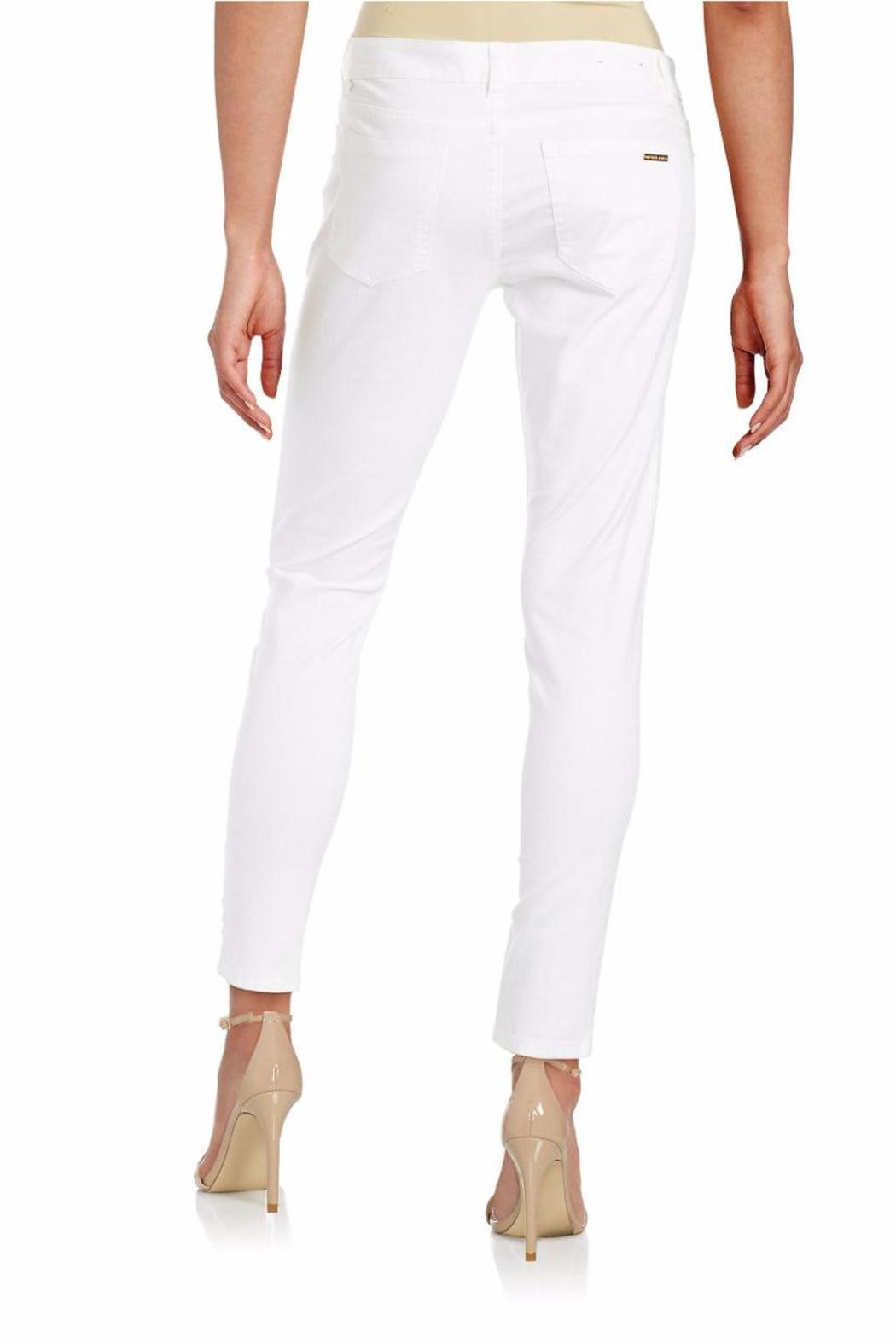 Michael by Michael Kors Cropped Skinny Jeans - Front Full Image