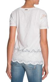 Michael by Michael Kors Lace Cutout Shirt - Front full body