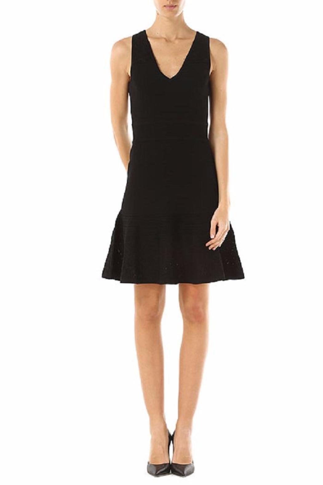 Michael by Michael Kors Lace V Neck Flare - Main Image