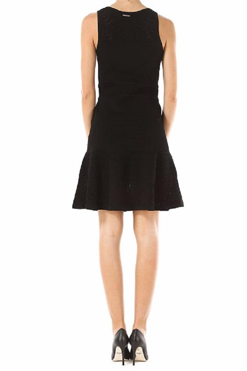 Michael by Michael Kors Lace V Neck Flare - Front Full Image