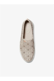 Michael by Michael Kors Laser Cut Out Sneaker - Front full body