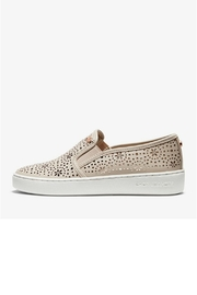 Michael by Michael Kors Laser Cut Out Sneaker - Front cropped
